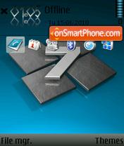 Windows 7 Blue 01 es el tema de pantalla