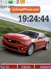 Chevrolet Camaro SS theme screenshot