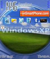 WindowsXP theme screenshot