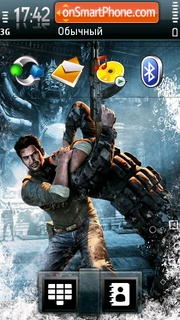 Uncharted theme screenshot