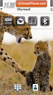 Скриншот темы Leopard 02