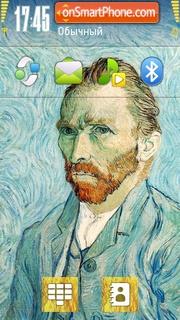 Van Gogh 01 tema screenshot