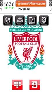 Liverpool Fc 09 theme screenshot
