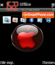 RedApple theme screenshot