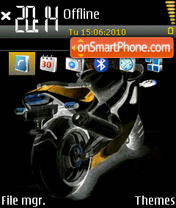 Bike 10 theme screenshot