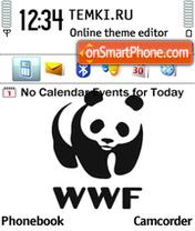 WWF Panda s60 es el tema de pantalla