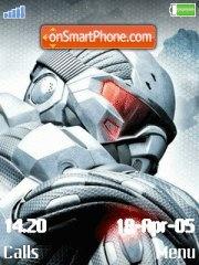 Crysis es el tema de pantalla