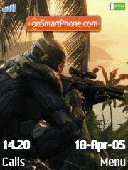 Crysis green world es el tema de pantalla
