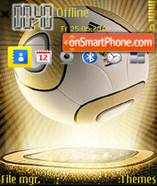 2010 World Cup 01 theme screenshot