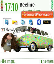 Hippie Sheeps Default theme screenshot