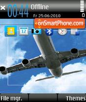 Скриншот темы Airplane 01
