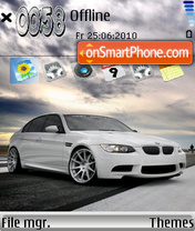 Bmw M3 Sedan theme screenshot