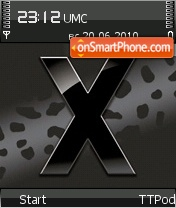 X-Steel theme screenshot