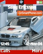 BMW M3 theme screenshot