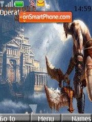 God of war-3 es el tema de pantalla