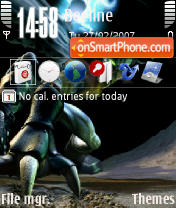 Legacy Of Kain QVGA theme screenshot