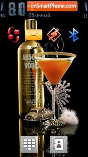 Скриншот темы Vodka