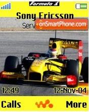 V.Petrov F1 renault es el tema de pantalla