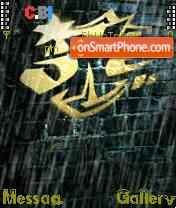 The One theme screenshot