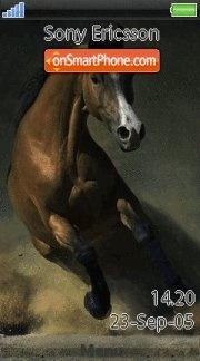 Horse 04 es el tema de pantalla