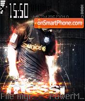Скриншот темы Messi 03