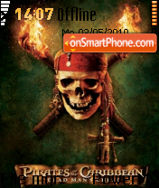 Pirates Logo theme screenshot