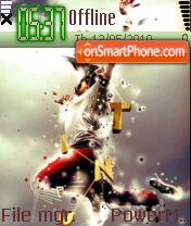 Dance 11 tema screenshot