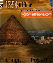 Pyramid 01 es el tema de pantalla