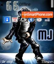 Скриншот темы Michael Jackson 18