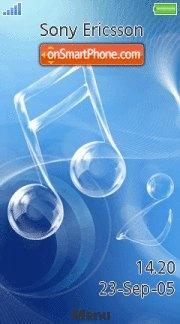 Music Note 02 es el tema de pantalla