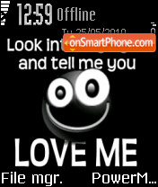 Love Me 03 es el tema de pantalla
