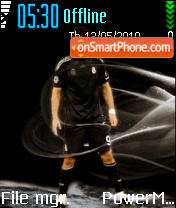 Cristiano Ronaldo 17 theme screenshot