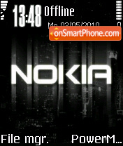 Nokia City theme screenshot
