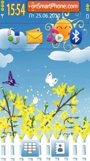 Spring 5th tema screenshot