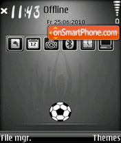 Worldcup 2011 theme screenshot