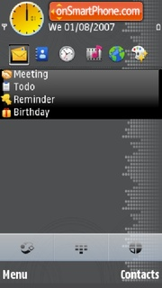 Abstract 5Th theme screenshot
