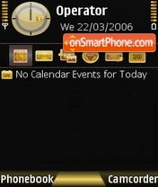 Satio Gold theme screenshot