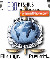 Interpol theme screenshot