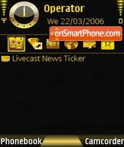 Gold Sublimed theme screenshot