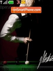 Neil Robertson - world snooker champion theme screenshot