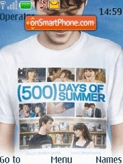 Capture d'écran 500 Days Of Summer thème