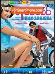 Pyaar Impossible (Bollywood 2010) theme screenshot