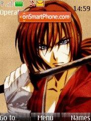 Samurai X 01 theme screenshot