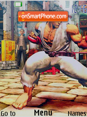 Street Fighter 02 theme screenshot
