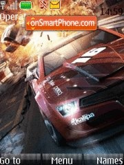 Nfs With ringtone 01 theme screenshot