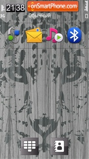 Скриншот темы Snow Leopard 02