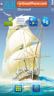 Schooner Hd tema screenshot