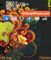 Abstract 24 theme screenshot