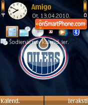 Edmonton Oilers theme screenshot