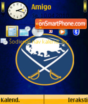 Buffalo Sabres 01 theme screenshot